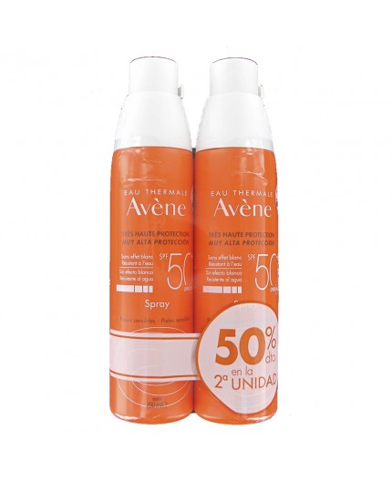 Avène Spray SPF 50+ Pack Duplo