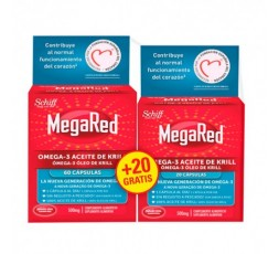 MegaRed Omega-3 Aceite de Krill Pack