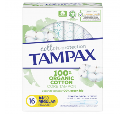 Tampax Cotton Protection Regular